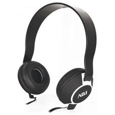 Cuffia Adj Con Microfono Jab X Pc Smartphone / Iphone 3,5mm Nera / Bianca
