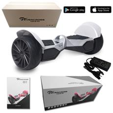 Monster 8.5'' Portable Bluetooth+app New Wheel Hoverboard Smart Balance Allroad Silver