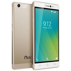 "M2 Oro 16 GB 4G / LTE Dual Sim Display 5"" HD Slot Micro SD Fotocamera 8 Mpx Android Italia"