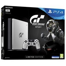 SONY - Console Playstation 4 PS4 1 Tb Slim Silver + Gran...