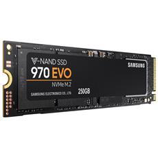 SSD 250 GB Serie 970 EVO M. 2 Interfaccia PCIe NVMe