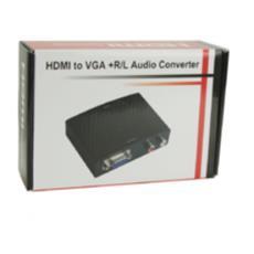 Convertitore HDMI VGA + Audio Nera 5 v 50 – 60 Hz HDM1925V
