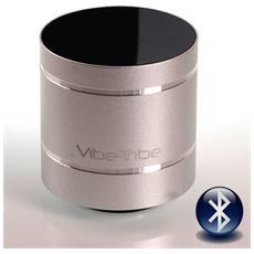 Sistema Audio Portatile Troll 2.0 wireless Bluetooth Colore Silver