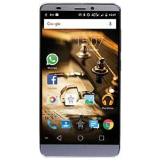 "PhonePad Duo S552U Grigio 16 GB 4G/LTE Dual Sim Display 5.5"" Slot Micro SD Fotocamera 13 Mpx Android Italia"