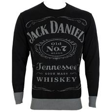Jack Daniel's - Black Knitted (Felpa Unisex Tg. XL)