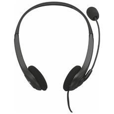 InSonic cuffie stereo di alta qualità con microfono flessibile e regolabile