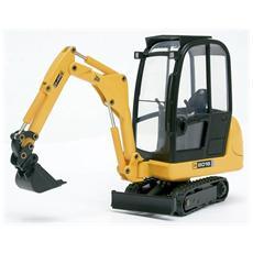 Jl0219 Mini Scavatrice Jcb 8016 1:25 Modellino