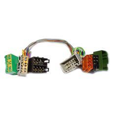 ISO2CAR Mute-Adapter Volvo S60 / S80 / V70 (2001) cavo di interfaccia e adattatore