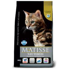 Cibo per gatti Sterilizzato al Pollo 400 gr