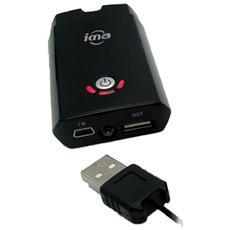 639113, Litio, Nero, USB, Telefono cellulare, Potenza