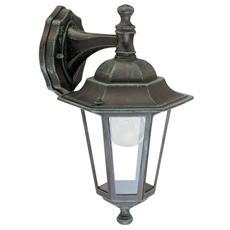 Lanterna da giardino Lampada esterno in alluminio E27 21x34 H