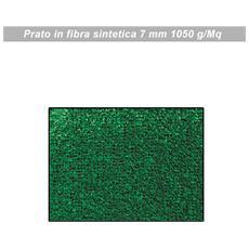 Prato erboso sintetico per tarrazzo o bordo piscina cm 200x 2500 verde