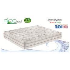 Ardisia - Materasso 80X190 Singolo Anallergico Aloe Feel Altezza 25