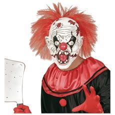 Maschera Killer Clown Con Capelli