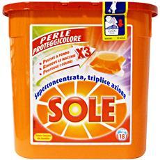 Lavatrice Ecodosi Salvacolore X 18 Pezzi Detergenti Casa