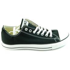 All Star Ct Scarpe Sneakers Nere Black Basse Low Junior Donna 34