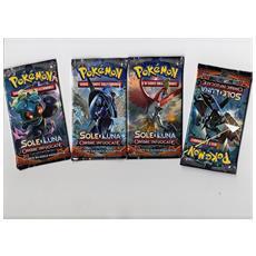 Carte Pokemon Sole Luna Ombre Infuocate Busta 1 pz