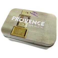 scatola di metallo 'provence' talpa - [ n6554]