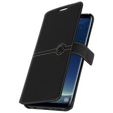 Custodia Portafoglio Façonnable Per Galaxy Note 8 - Nero