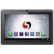 """Tablet Evo+ Nero 7"""" Dual Core Memoria 4 GB +Slot MicroSD Wi-Fi Fotocamera 2Mpx Android -"""
