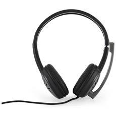 Cuffie a Padiglione S-MC-816 Stereo con Cavo - Nero
