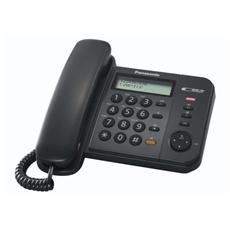 Kxts580ex1b-telefoni Con Filo -tel. C / Filo Lcd Analog. Identif. Chiamate Black