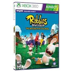 X360 - Rabbids Invasion - The Interactive Show (Kinect)