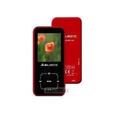 """Lettore MP4 8GB Sintonizatore FM Display da 1.8"""" colore Rosso"""