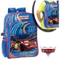 4052351 Zaino A Spalla Scuola Saetta Mcqueen Disney Junior Cars 30 X 40 X 16 Cm