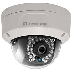 Levelone Fixed Dome Nw Camera 4mp Poe Wdr Vandalproof In