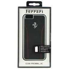 """Original Ferrari Hardcover Custodia 488 Fesehcp6bkr Iphone 6 4""""7 Nero"""