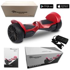 Monster 8.5'' Portable Bluetooth+app New Wheel Hoverboard Smart Balance Allroad Rosso