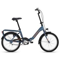 Bici Pieghevole Bottecchia Graziella Stile Libero 1v - Blu Opaco
