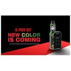Sigaretta Elettronica Smok G-prive Army Green Originale Smok-prodotto Senza Nicotina
