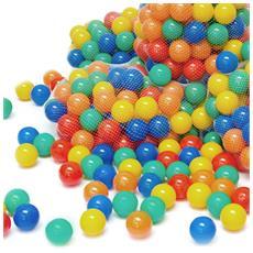 100 Palline Colorate Ø 7 Cm Di Diametro Palline Di Plastica Gioco Per Bambini Prima Infa