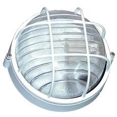 Plafoniera bianca esterno attacco a soffito o parete E27 cm 19,2 x 10,2 H