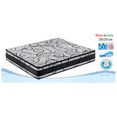 Afrodite - Materasso 80X190 Singolo Anallergico Fresh Foam Altezza 25