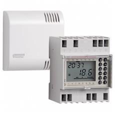 Evo-Din Crono termostato da barra DIN