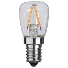 I-LED-E14-10WF - Lampada LED E14 Bianco Caldo 1.3W Filamento Classe A++ 2pz