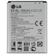 Batteria Ricambio Sostituzione 2440 Mah Lg Optimus G2 Mini D620 D620r Bl-59uh Bl59uh