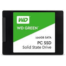 SSD 120 GB Serie WD Green X 2.5'' Interfaccia Sata III 6 Gb / s