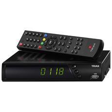 S-HD11, Cavo, Satellite, Analogico & Digitale, 4:3, 16:9, H. 264, MPEG2, MPEG4, WAV, JPG