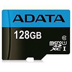 Scheda di Memoria Micro SDXC Capacità 128 GB Classe 10 Velocità 85 MB / s