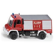 Camion dei Pompieri Vigili del Fuoco Scala 1:87 Rosso