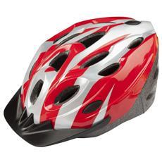 Casco Ciclo Universale Rosso