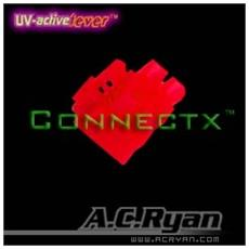 "Connectxâ""¢ ATX4pin (P4-12V) Female - UVRed 100x, ATX 4pin Female, Rosso"
