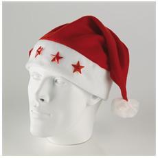 Cappello Babbo Natale Colore Bianco e Rosso