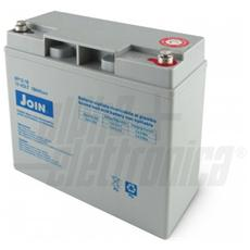 Batteria al piombo ricaricabile 12V 18Ah – AGM ideale per UPS, Sistemi di allarme, Gruppi di continuità, Peg Perego, lampada di emergenza