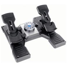 Flight Rudder Pedals - Pedali - cablato - per PC