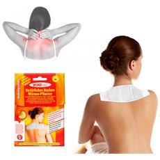 626572 Pack 2 Cerotti Naturali Termici Al Calore Terapeutico Per Zona Cervicale